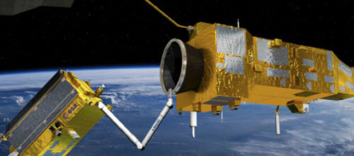 ModelCenter helps ensure space debris removal