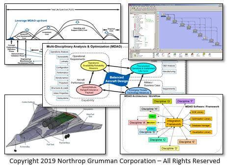 MDAO for Conceptual Aircraft Design at Northrop Grumman